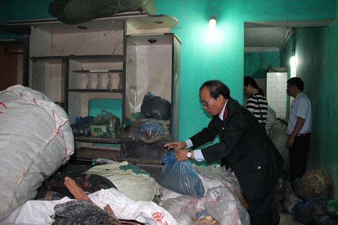 Traditional medicine shop raided