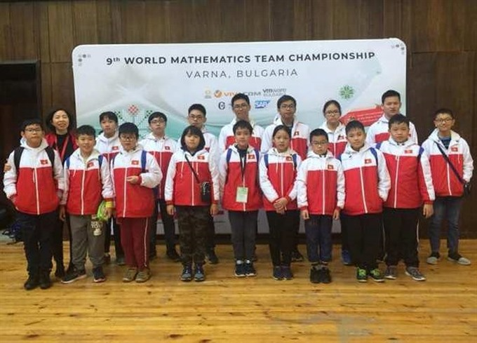 VN wins big at international math competition