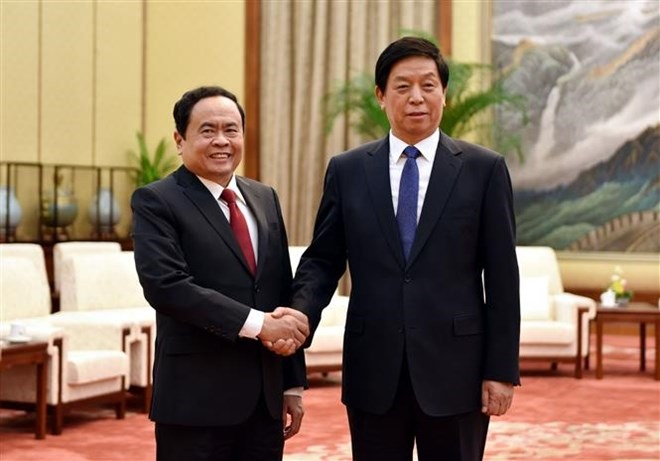 Việt Nam Fatherland Front enhances ties with Chinese Peoples PCC
