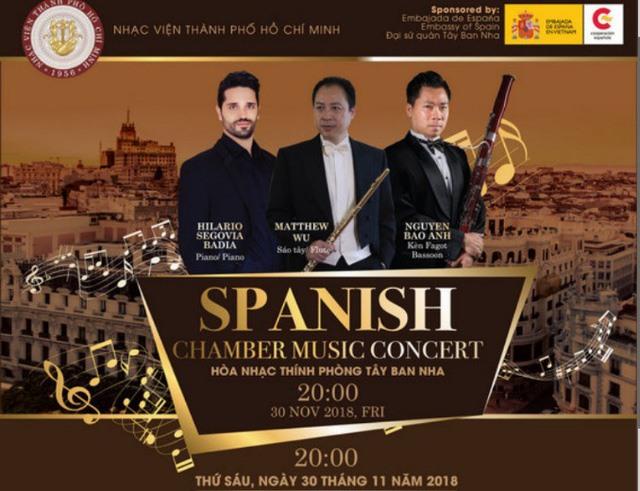 Concert features Spanish pieces
