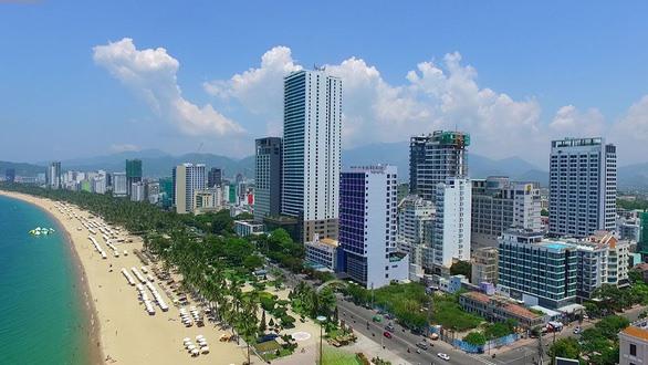 High-rise buildings block sea view in Nha Trang