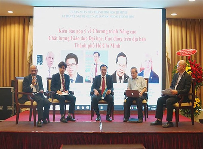 Việt kiều conference urges HCM City to modernise education