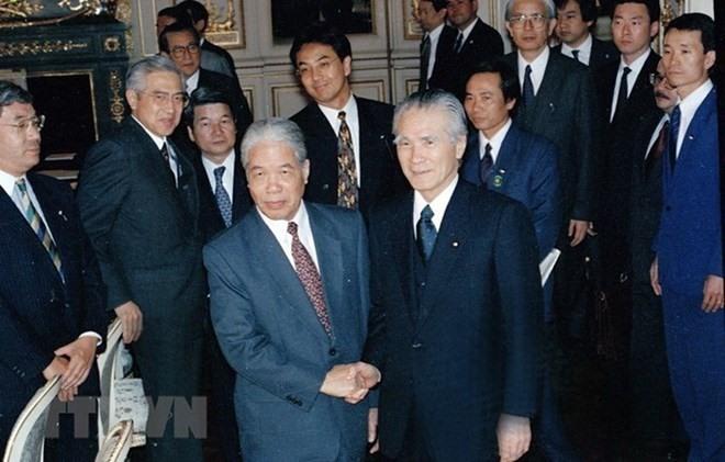 Japan honours late Vietnamese Party leader Đỗ Mười