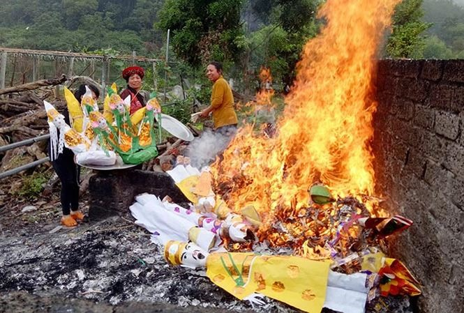 Stop burning objects in pagodas