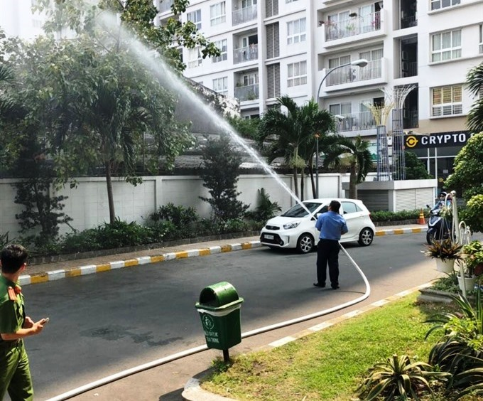 City takes steps to ensure fire safety at apartment buildings high-rises