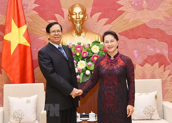 Leaders laud VN-Myanmar ties