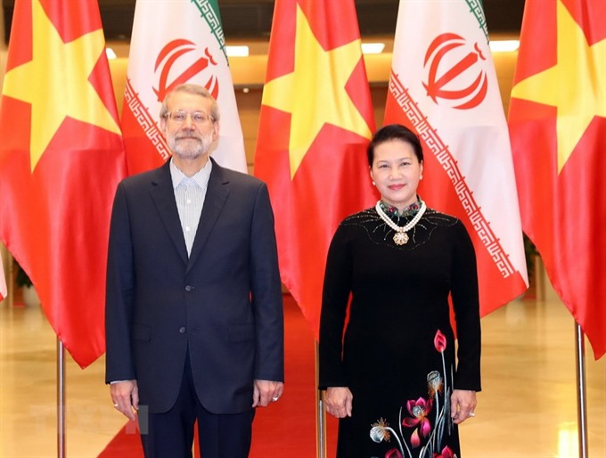 NA Chairwoman welcomes Iranian Parliament Speakers visit