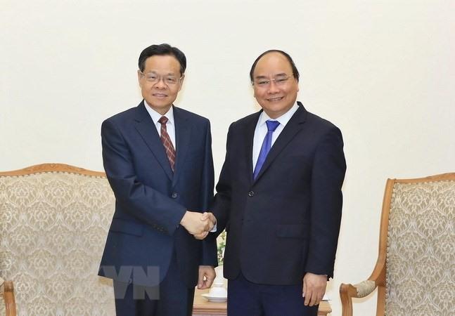 PM receives Chair of Guangxi Zhuang Autonomous Region