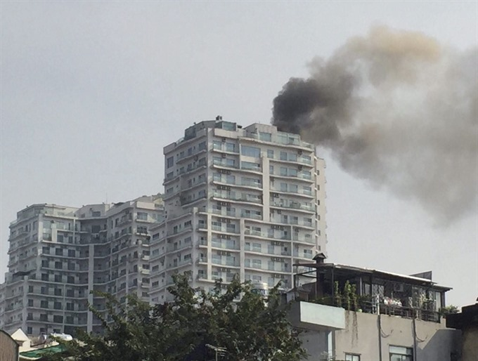 Most Hà Nội apartments dont have fire insurance
