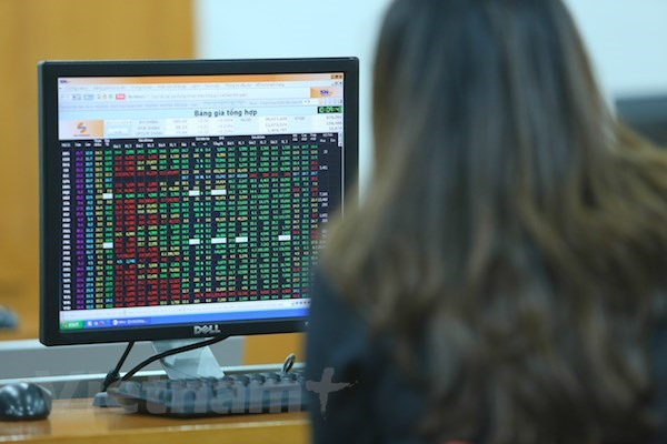 VN shares rise for a second day