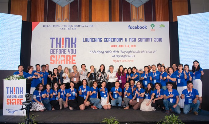 Think Before You Share online safety campaign launched in Việt Nam