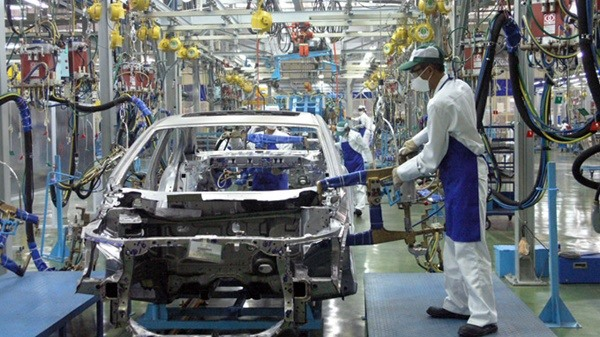 Manufacturing processing drive economic growth in H1