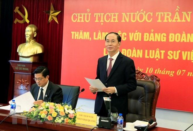 VN Bar urged to push judicial reform