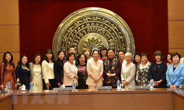 Female Japanese parliamentarians welcomed in Hà Nội