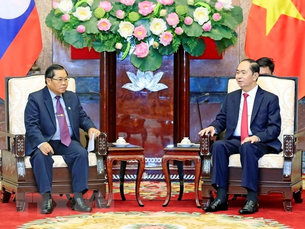 President commends Việt Nam-Laos parliamentary cooperation