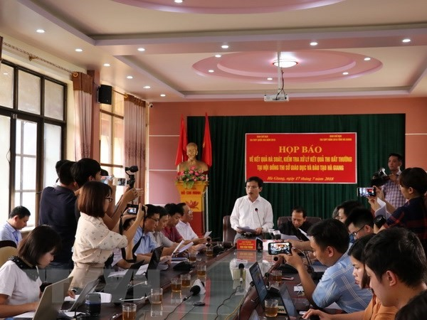 Criminal proceedings started for score manipulation scandal in Hà Giang