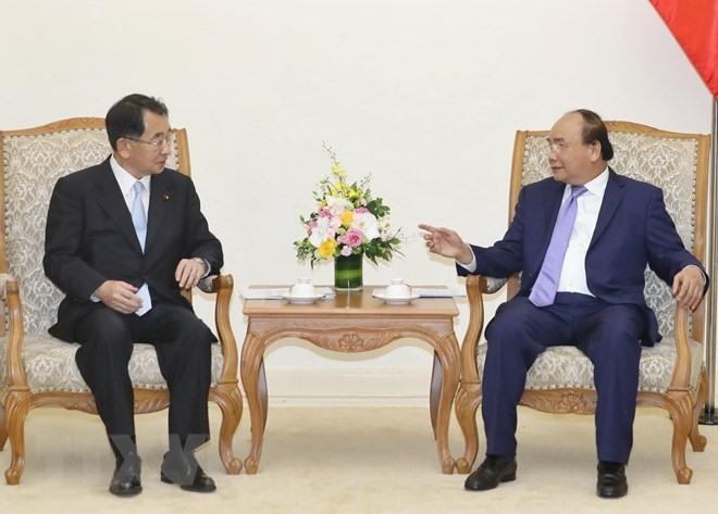 PM meets head of Japan-Mekong Association