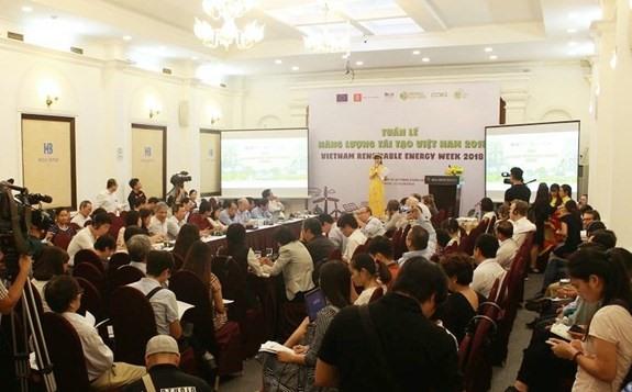 Vietnam Renewable Energy Week 2018 begins
