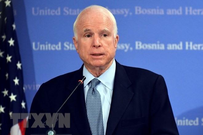 Leaders send sympathies over passing of US Senator John McCain