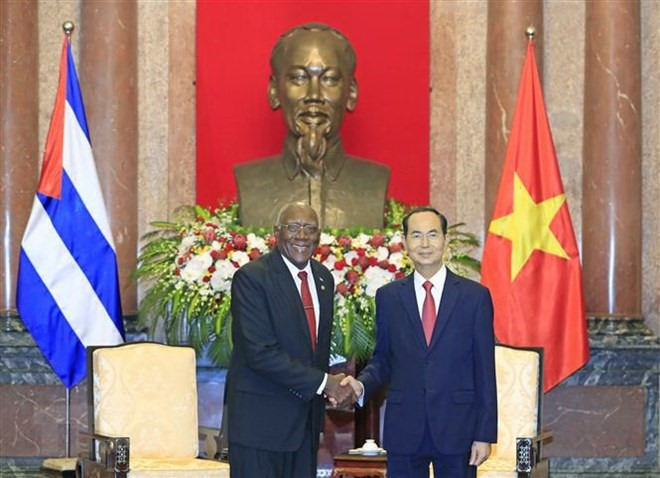 Việt Nam determined to continue strengthening solidarity with Cuba