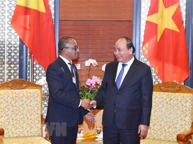 WEF ASEAN 2018: PM receives Timor-Leste Foreign Minister