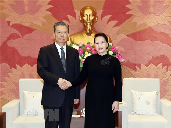 NA Chairwoman receives Chinese Party official