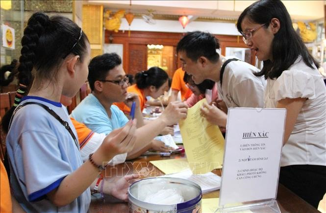 Nearly 600 people register to donate organs