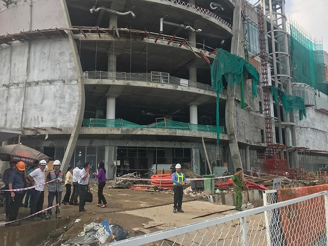 Labour accidents plague HCM City construction sites