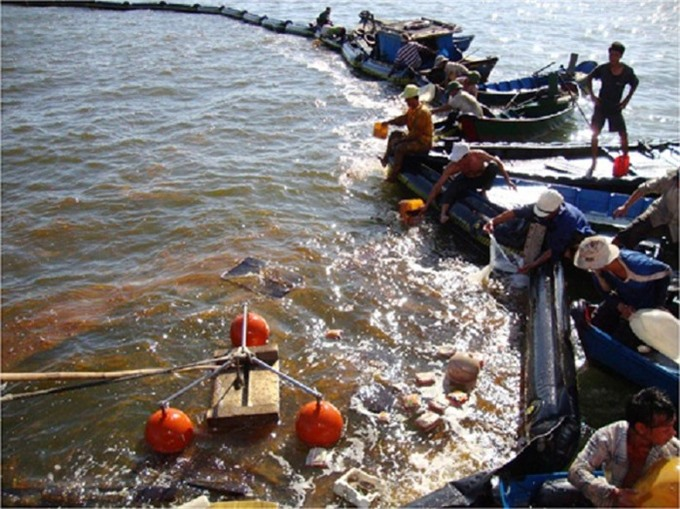 Ministry guides oil spill response