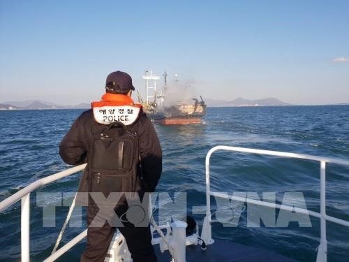 Vietnamese workers killed injured in RoK fishing ship incident