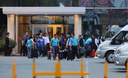 Vietnamese bomb victims return