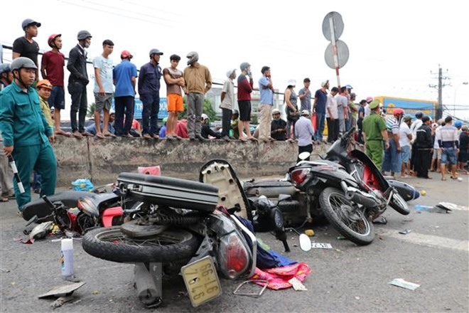 VN targets to reduce traffic accidents by 10 per cent