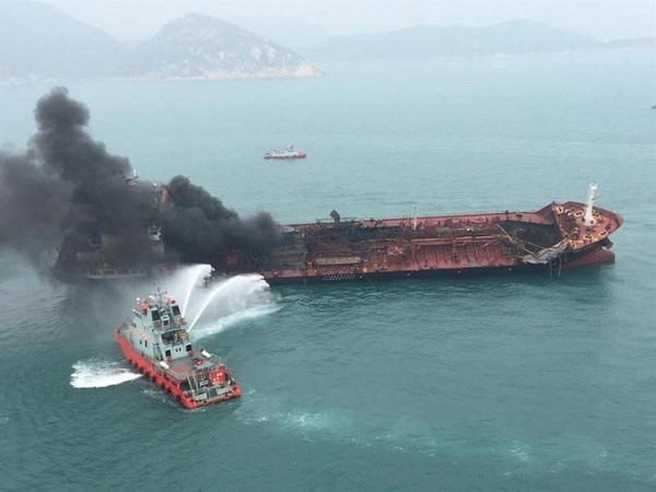 One dead two missing in Vietnamese oil tanker fire off Hong Kong