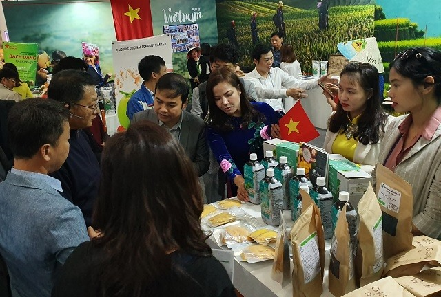 Vietnamese businesses participate in intl agriculture expo in South Korea