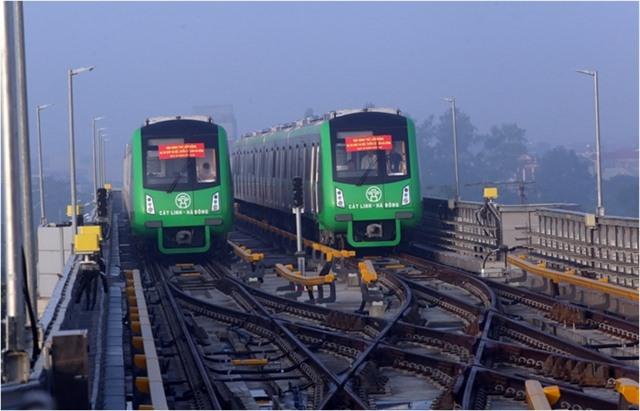 Hà Nội wants to extend the long-delayed Cát Linh-Hà Đông urban railline