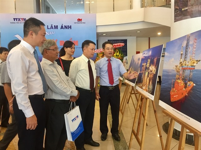 VNA photo exhibition on seas islands opens in HCM City