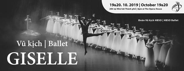 Ballet Giselleto be stagedat HCM City Opera House