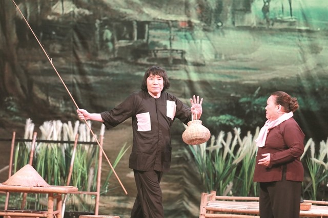 Cultural programme features cải lương on HCM City Book Street
