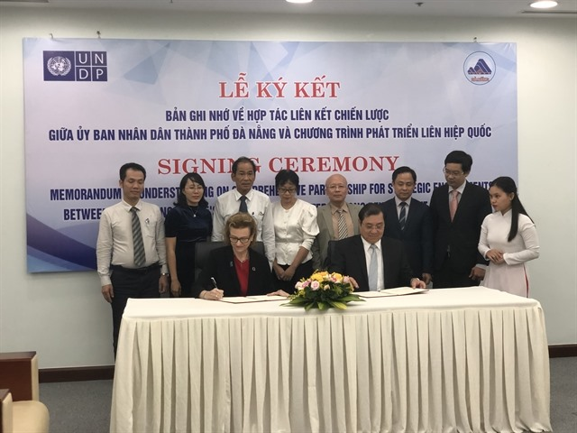 Đà Nẵng and UNDP strengthen co-operation to build smart and green city