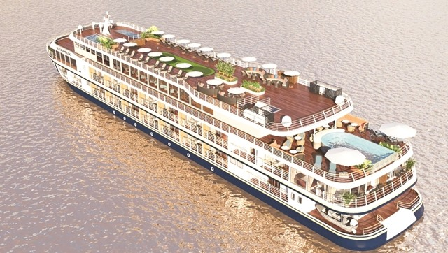 Luxury cruise ship opens Cần Thơ-Phnom Penh route