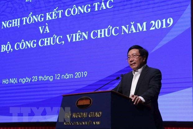 Việt Nams diplomacy achievements in 2019