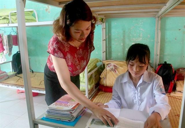Boarding school model encouragesmore students to class