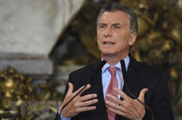 President of Argentina Mauricio Macri begins official visit