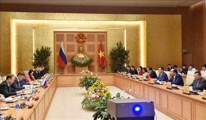 Russia willing to help Việt Nam build its e-government