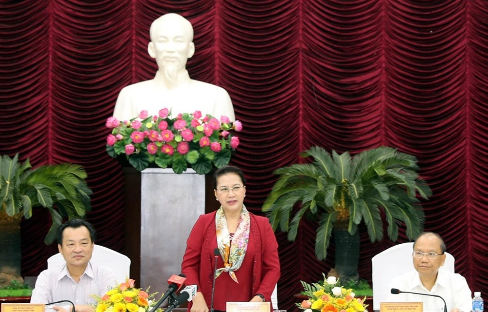NA Chairwoman reviews Bình Thuậns socio-economic development