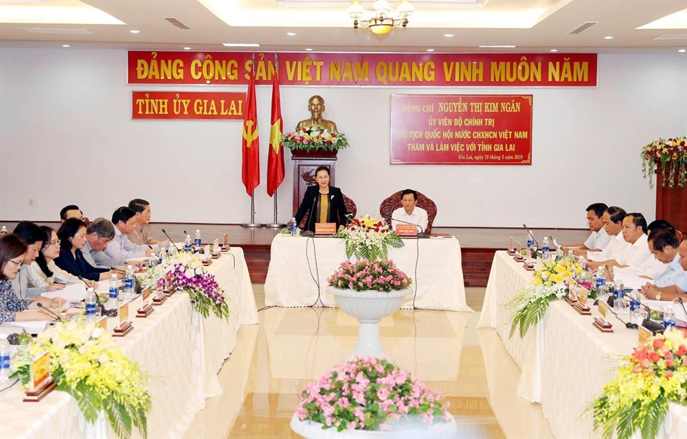 NA leader hails Gia Lai Province for economic performance