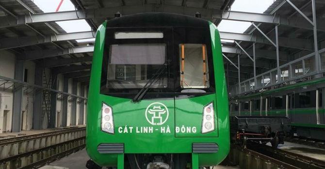 Cát Linh-Hà Đông Metro ticket rates proposed
