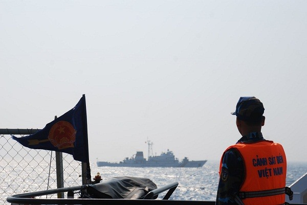 Coast Guard check VN-China fishery agreement implementation