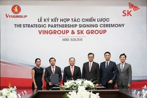 Vingroup sell US1 billion stake to South Korean firm