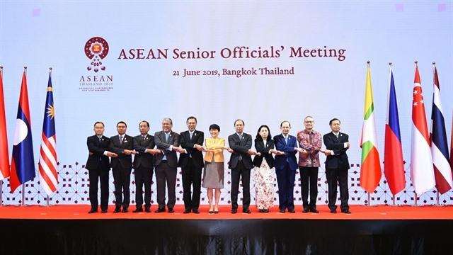 Việt Nam attends ASEAN Senior Officials Meeting in Thailand